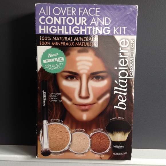 bellapierre Other - All Over Face Contour and Highlighting Kit